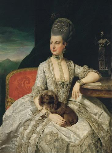 портрет эрцгерцогини Марии Кристины (366x500, 29Kb)