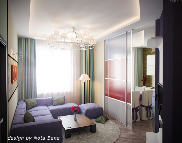 Дизайн малогабаритных квартир 33 кв.м