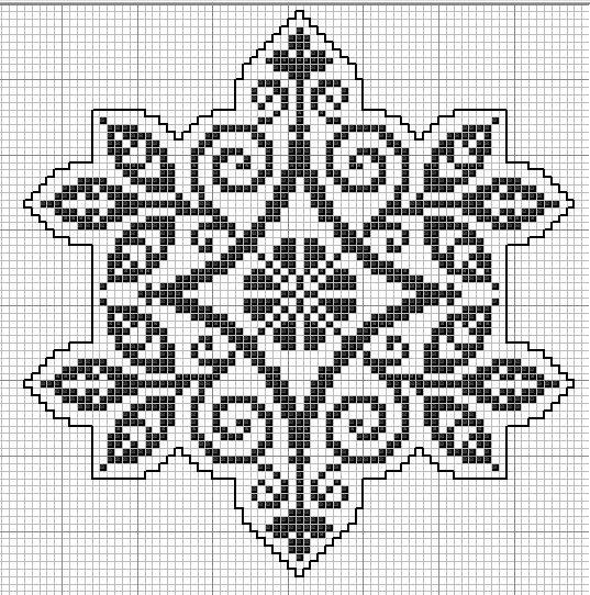 "188x190 крестов * 3 цветов * Теги: монохром.  Предпросмотр.  Схема вышивки  ""Монохромная вышивка "" ."