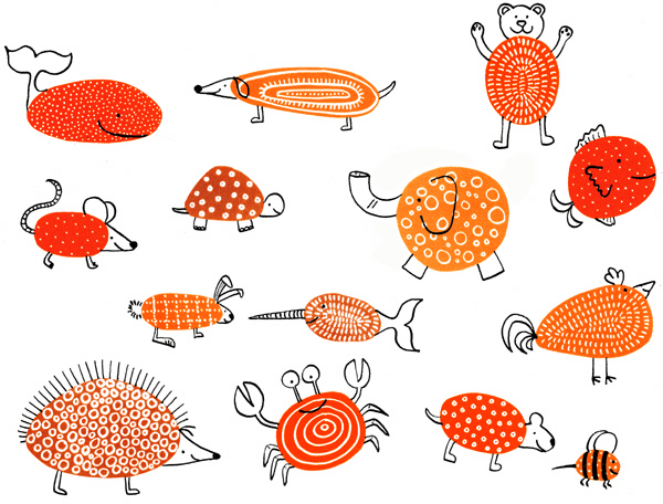 Pebble-animals (600x456, 231Kb)