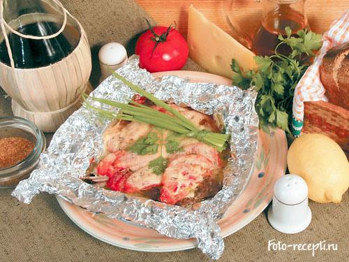 Рёбрышки бараньи рецепт в духовке в фольге