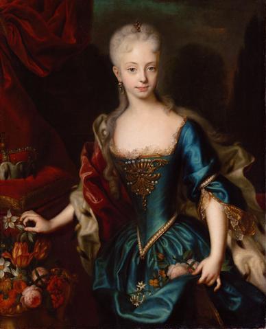 Мария Терезия в 11-летнем возрасте (388x479, 24Kb)