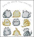 Превью MSNC739-Nine_Cats (390x420, 133Kb)