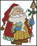 Превью Holiday Treats Woodland Santa (162x204, 48Kb)