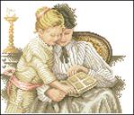 Превью Lanarte Moeder en kind Nш34511 (420x360, 146Kb)