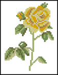 Превью Lanarte Gele roos N°34591 (150x195, 24Kb)