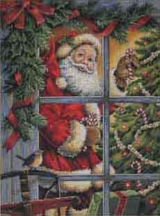 Candy Cane Santa (230x310, 16Kb)