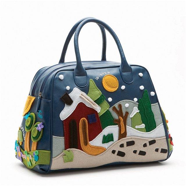 Новая коллекция сумок Braccialini.