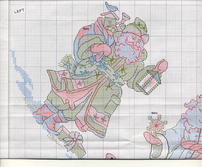 Схемы для вышивки крестом на юбке 344
