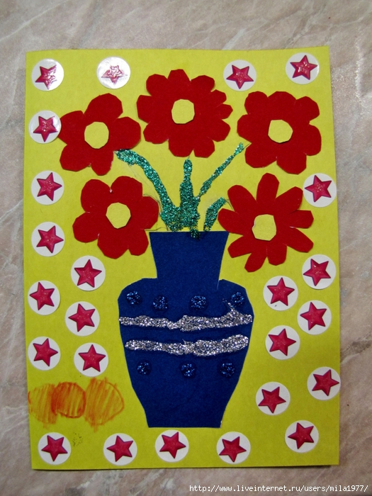 Как сделать своими руками открытки для бабушке с днем рождения