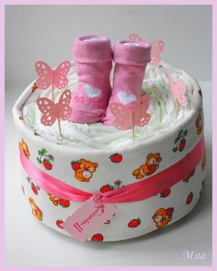 Подарок в честь рождения ребенка своими руками