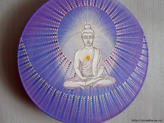 прбудившийся, акрил, автор Shraddha (5) (700x525, 310Kb)