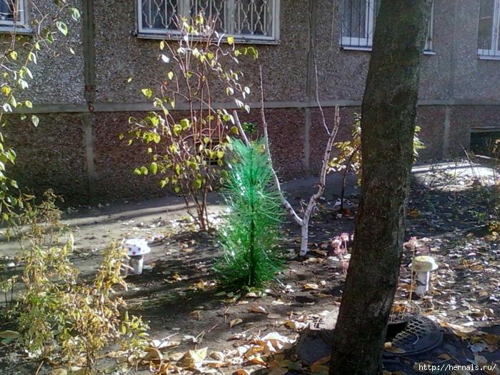 пластмассовая елка
