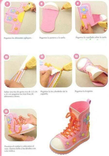 Как сделать туфли для кукол своими руками без клея