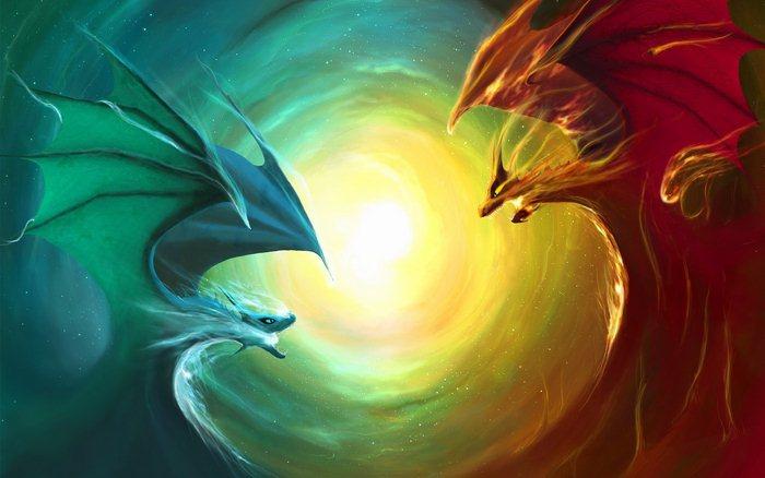 фотообои с драконами: