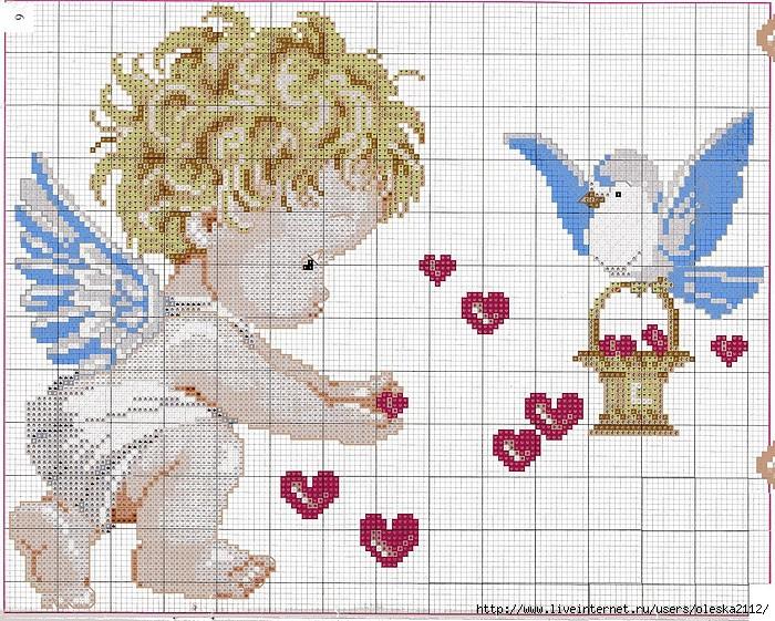 милый ангелочек (700x561