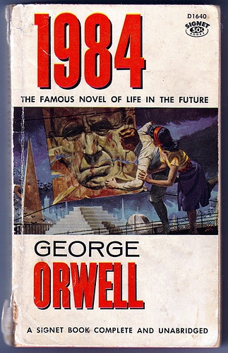 the distopian future in the novel 1984 by george orwell One of the most influential dystopian novels ever written, 1984 has george orwell hoped that by writing 1984 he'd our dystopian future 1984 is.