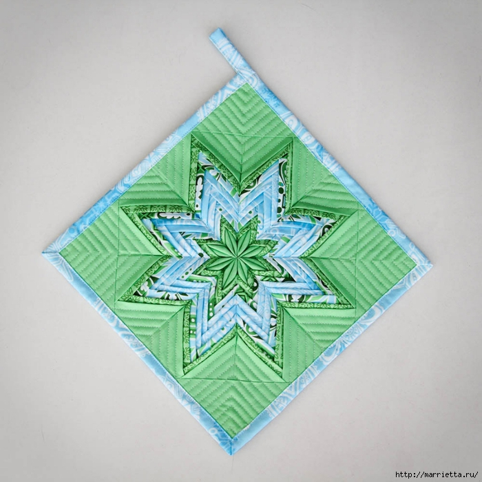 Fancy Folded Star_finished (700x700, 280Kb)