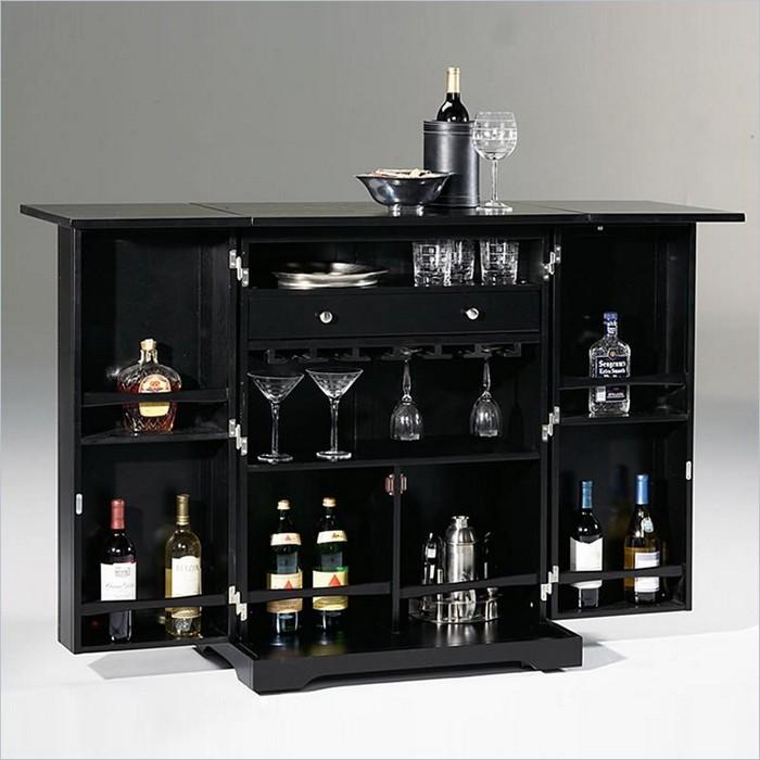 Small Home Bar Ideas And Modern Furniture For Home Bars: Красивый мини бар для дома и офиса