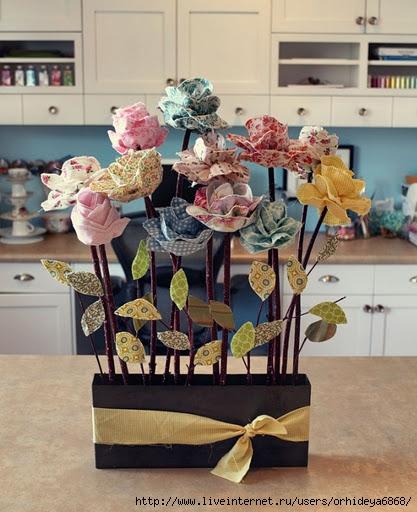 Как сшить цветок из ткани.  Изготовление цветков из ткани очень...