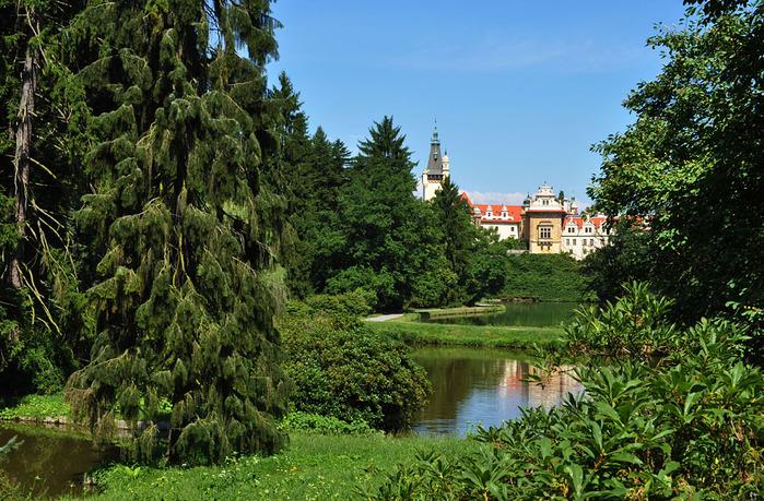 Ботанический сад в Пругонице 67736