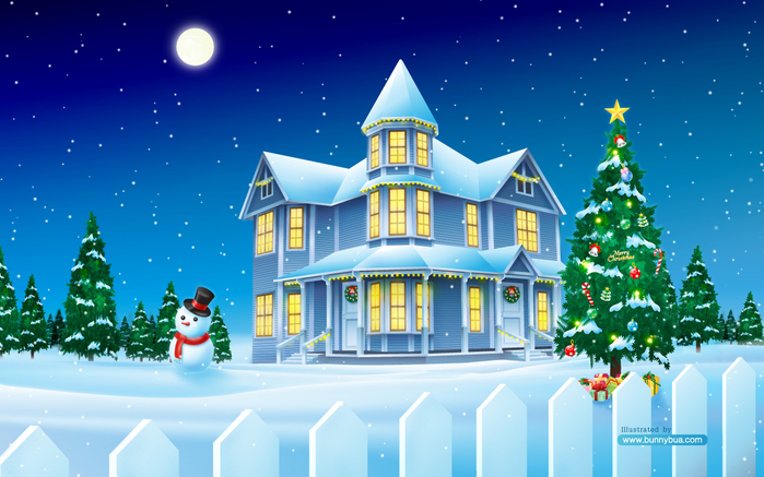 christmas_house_widescreen (700x437, 286Kb)
