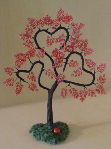 Сделать сердце с дерева