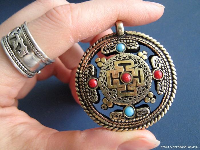 непальский кулон и кольцо OM MANI PADME HUM (700x525, 304Kb)