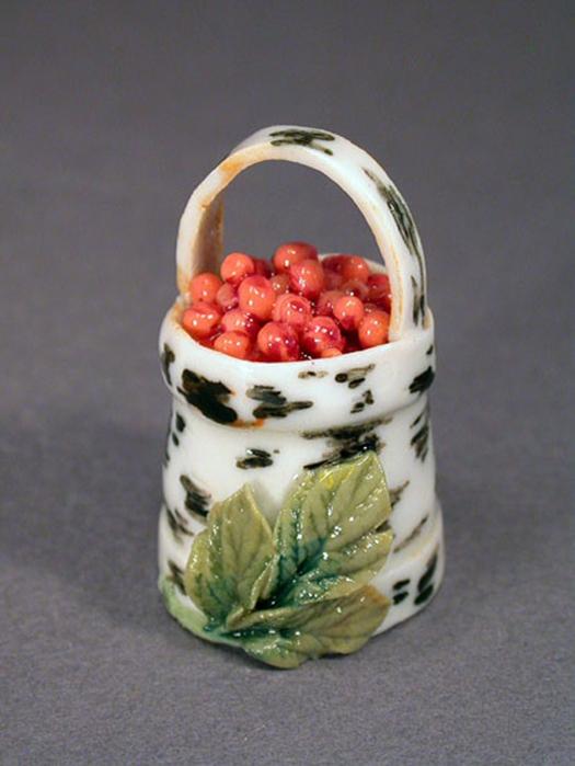 торт туесок с ягодами фото