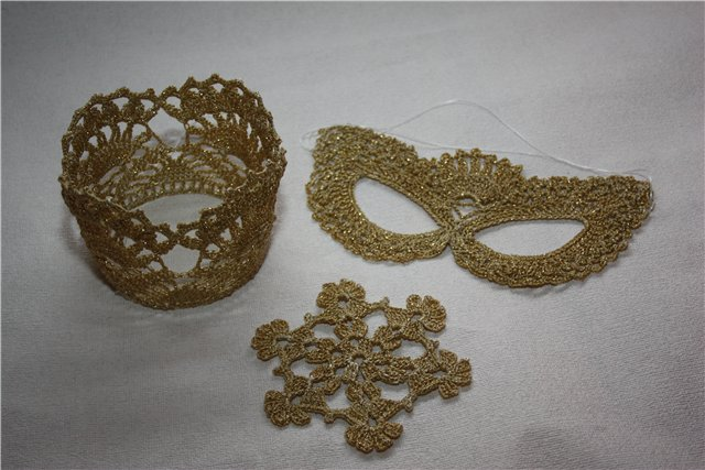 Схема маски