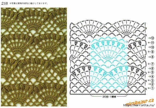 Узоры для вышивки с крючком схемы