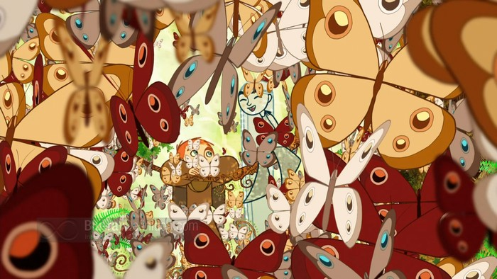 Самый красивый мультфильм   Тайна Аббатства Келлс