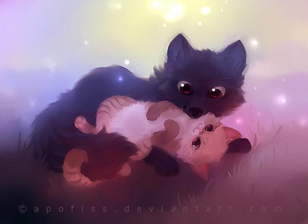 Коте_собака (600x437, 187Kb)