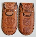 Превью Казахский орнамент на кожаном футляре для очков. (677x700, 244Kb)