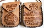 Превью Казахский орнамент на кожаных футлярах для телефона. (700x447, 173Kb)