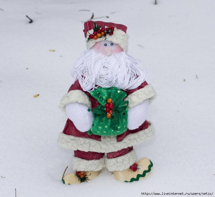 Санта Клаус в красном (Тильда) 07 (700x642, 258Kb)