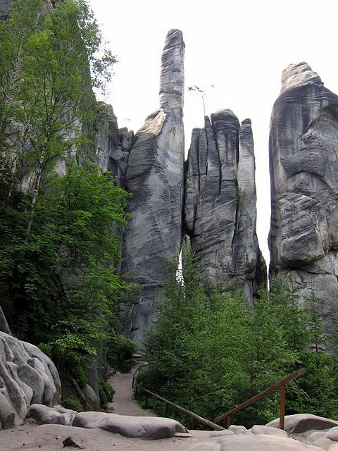 Адершпаско-Теплицкие скалы 74070