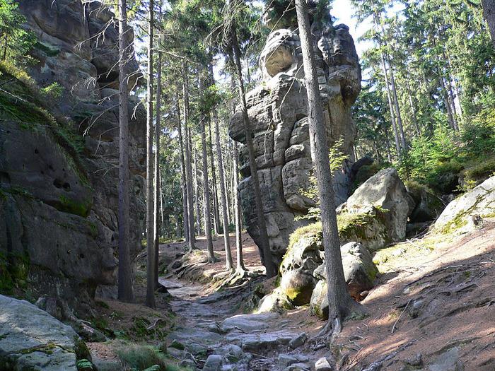 Адершпаско-Теплицкие скалы 70392