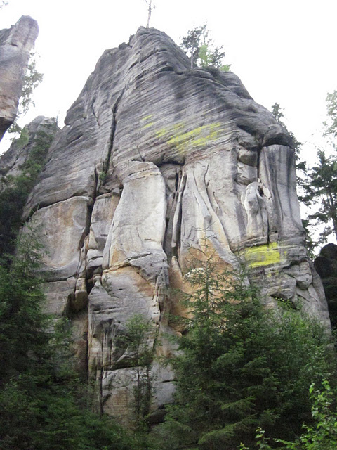 Адершпаско-Теплицкие скалы 95680