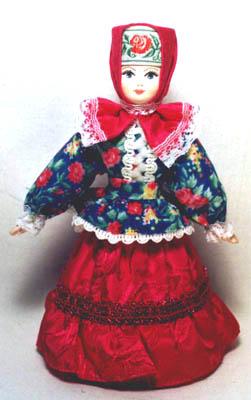 Женский традиционный казачий костюм (стилизация) (251x400, 27Kb)