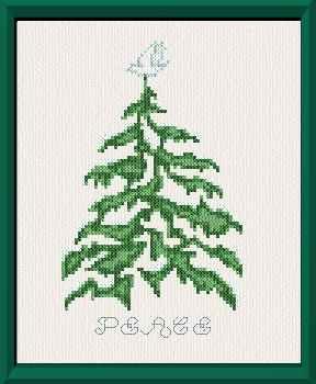 елка с голубем карт (288x350, 11Kb)