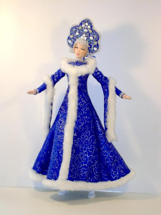 Как сделать костюм снегурочку своими руками