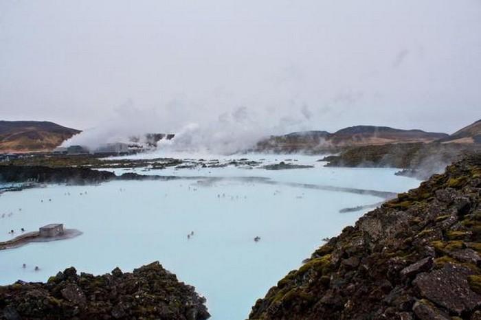 Голубая лагуна - термальный курорт в Исландии