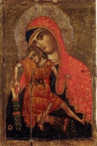 «Милостивая» Киккская икона Божией Матери. 1 (320x478, 124Kb)