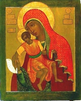 «Милостивая» Киккская икона Божией Матери. 5 (320x396, 100Kb)
