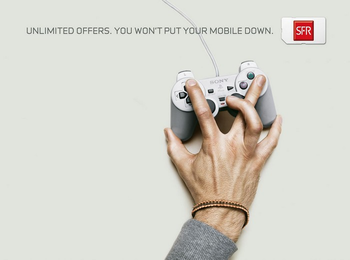 Креативная реклама Sony Playstation 3 -