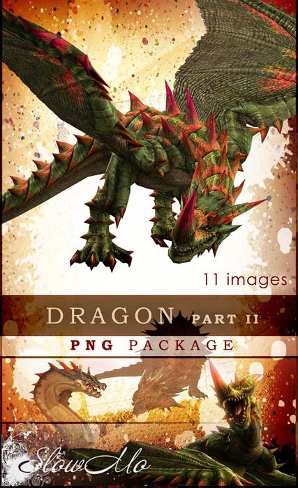 SlowMo, PNG, Png pack, Dragon, Images, Clipart, Драконы, Без фона, Картинки, Клипарты, Фэнтэзи/1322073514_Dragon_part2_Cover (427x700, 200Kb)