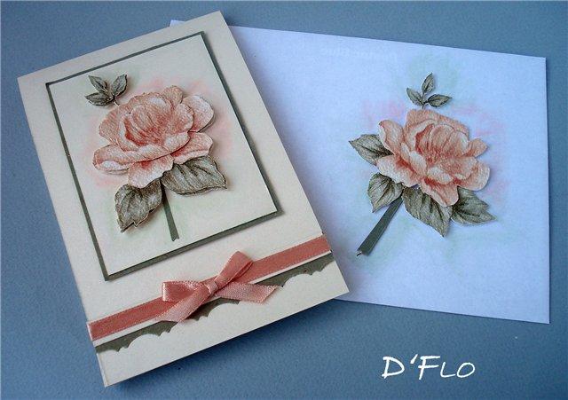 Элементы для открыток своими руками