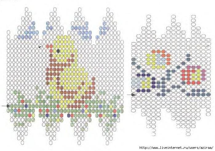 Орнаменты для оплетения пасхальных яиц.