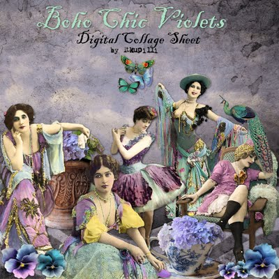 400 Boho Chic Violets sample (400x400, 74Kb)